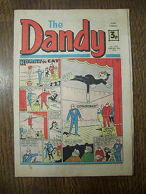 'The Dandy' no.1733 February 8th, 1975 in good condition