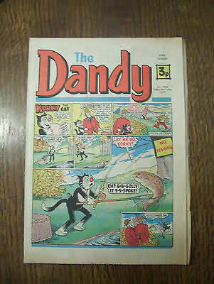 'The Dandy' no.1734 February 15th, 1975 in good condition