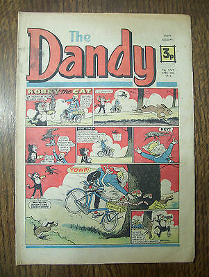 'The Dandy' no.1743 April 19th, 1975 in good condition