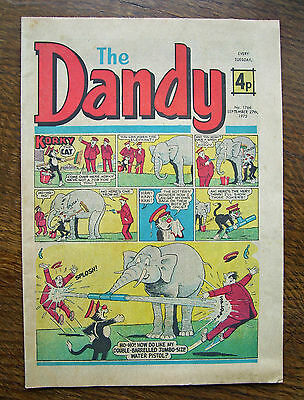 'The Dandy' no.1766 September 27th, 1975 in vgc