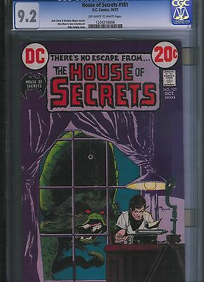 House of Secrets # 101 CGC 9.2  Off White to White Pages. UnRestored.