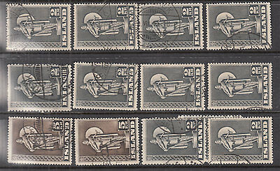 ICELAND ^^^^^1939 better   used   selection   hcv @f1333ice2