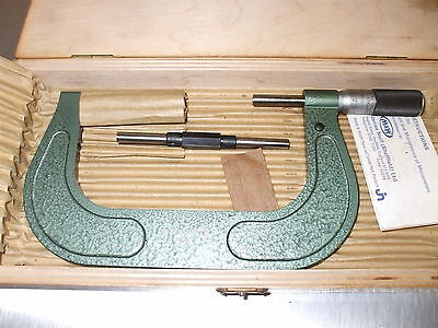 BRAND NEW!  -  LINEAR OUTSIDE MICROMETER 100 - 125mm  -  MORE IN STOCK