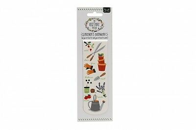 GARDENING Magnetic Bookmark The Vegetable Patch Page Saver Book Mark Gift Idea