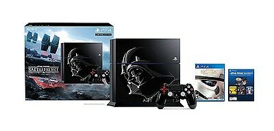 PlayStation 4 500GB Console - LE Star Wars Battlefront Darth Vader Bundle [PS4]