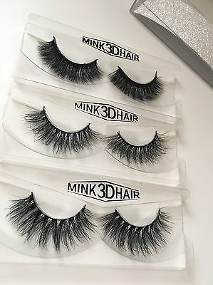 3 Pairs 3D Mink Wispy Lashes Similar To Lilly Lashes Mykonos Miami Multipack