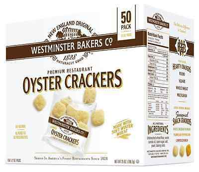 Westminster Bakers Company Premium Restaurant Oyster Crackers, 25 Ounce (50...
