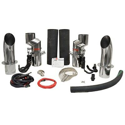 "Corsa Boat Exhaust Diverters 895625 | 4"" (Kit)"