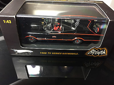 Batmobile from the 1966 TV series by Hotwheels