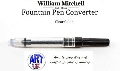 William Mitchell INK CONVERTER fountain pen bottled resevoir calligraphy