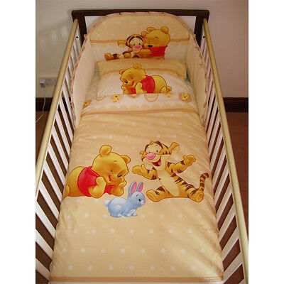 Disney Winnie & Tigger Bedding Set for Cot or Cotbed Beige