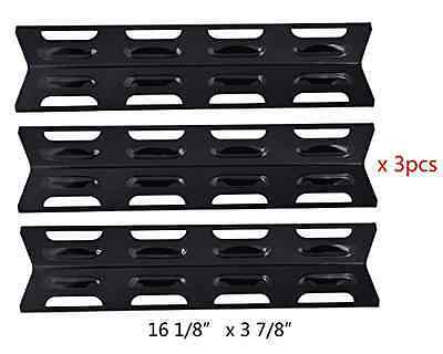 BBQ Mart 92071(3-pack) Select Gas Grill Porcelain Steel Heat Plate Replacement f
