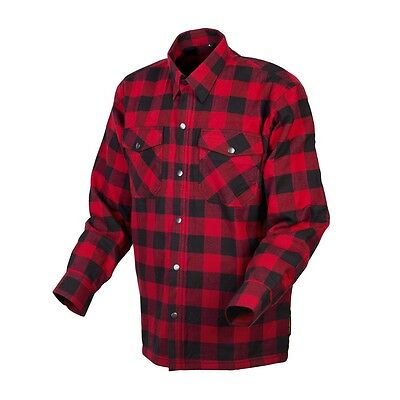 Scorpion Covert Flannel Kevlar Lined Shirt  Red/Black