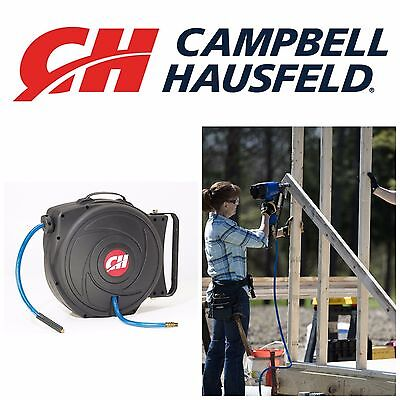 Campbell Hausfeld Air Hose Reel Retractable Air Compressors And Air Tools 50'