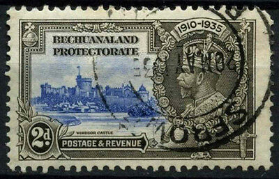 Bechuanaland Protectorate 1935 SG#112, 2d KGV Silver Jubilee Used Cat £6 #D43231