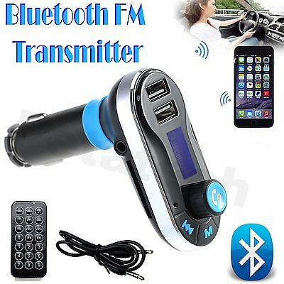 Car Kit MP3 Music Player Wireless Bluetooth FM Transmitter Radio With USB+Remote