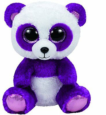 Ty Beanie Boo Boom Boom Panda Plush Brand New With Tags 15 Cms