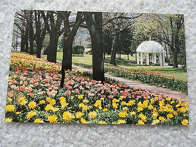 Spring House, The Greenbrier, White Sulphur Springs, West Virginia     Postcard