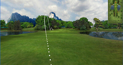 "NEW ProScreens HD 96"" x 120"" Golf Simulator Impact Screen REAL GOLF BALLS - USA"