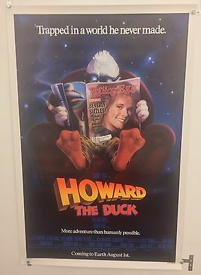 Howard The Duck Original One Sheet Movie Poster. Rolled