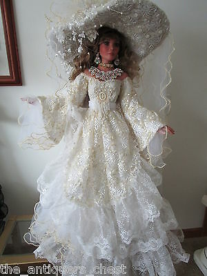 "CONSTANCE  doll by Rustie, 34"" ARTIST ORIGINAL #1, ONE-OF-A-KIND. Unique"