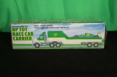 BP Toy Race Car Carrier Decorative Collectible Gas Company