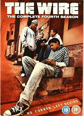 The Wire: Complete HBO Season 4 [DVD] - DVD  ZGVG The Cheap Fast Free Post