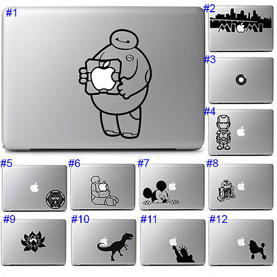 Cool Disney Laptop Graphic Design Vinyl Decal Sticker for Apple Macbook Air Pro