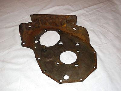 40 41 42 46 47 48 49 50 51 52 53 Chevy 6Cyl Front Timing Motor Mount Cover Plate