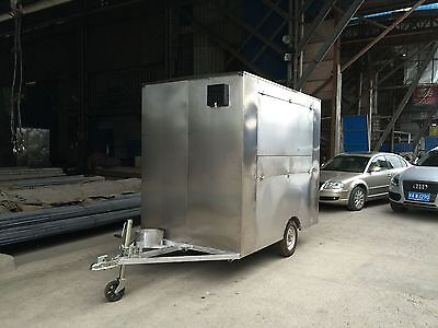 New Stainless Steel Concession Stand Trailer Mobile Kitchen in North Carolina US