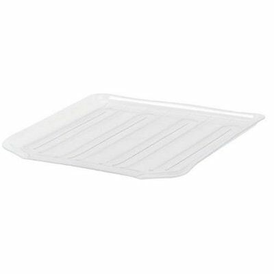 Antimicrobial Drain Board Large Clear Tray Clr Away Dish 1182maclr Drainer