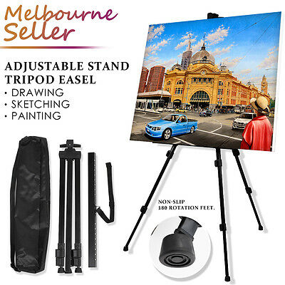 2018 Adjustable Stand Tripod Easel Art Display Sketch Artist Painting Exhibition