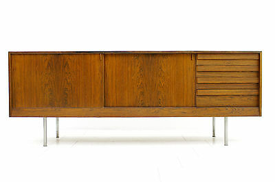 Sideboard with Metal Legs by Kurt Østervig for K. P. Mobler, Denmark