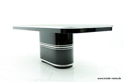 """MAUSER """"Rundform"""" Dining or Conference Table """"Genf"""", Germany 1950`s Bauhaus"""
