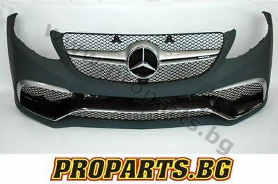 Mercedes W166 GLE class 63 AMG body kit bumper conversion Front Rear + EXHAUST