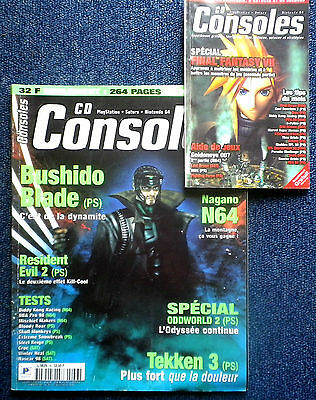CD CONSOLES N°36 Magazine jeux video console retrogaming Nintendo SEGA Sony