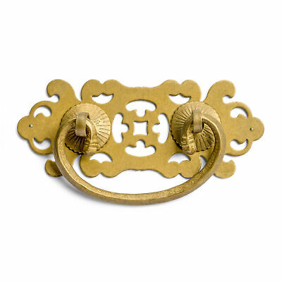 CBH 2 Chinese Brass Hardware Drawer Handle Pulls 4""