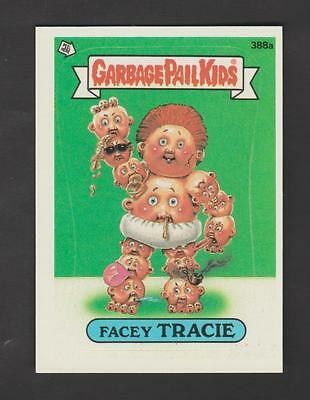 1987,TOPPS CHEWING GUM,GARBAGE PAIL KIDS,*FACEY TRACIE*-*388a*