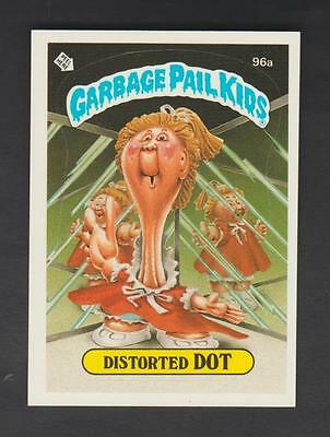 1986,TOPPS CHEWING GUM,GARBAGE PAIL KIDS,*DISTORTED DOT*-*96a*