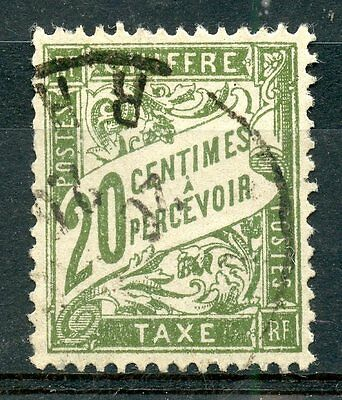 Stamp / Timbre De France Taxe Oblitere N° 31