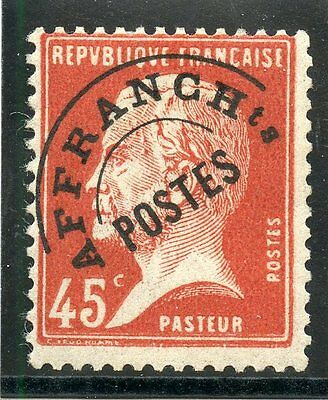 Promo / Stamp / Timbre France Preoblitere  N° 67 * Type Pasteur Cote 22 €