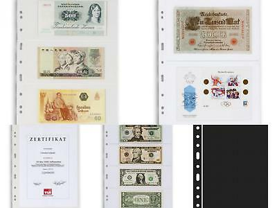 Lighthouse Grande banknote album pages 1C 2C 3C 4C ZWL
