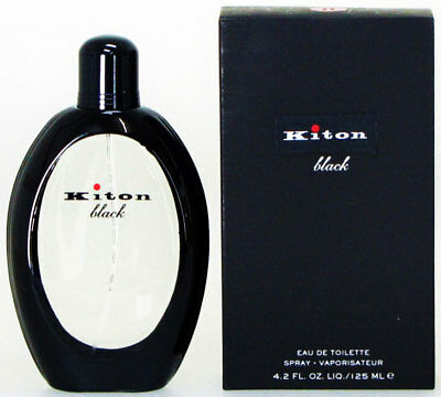 Kiton Black 125 ml Eau De Toilette EDT