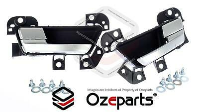 Ford Falcon FG FGX FG-X FRONT Pair LH Left + RH Right Inner Door Handle (satin)