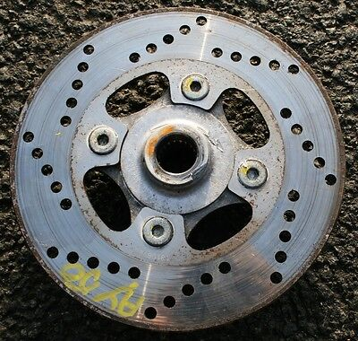 Suzuki Katana Ay50 Ay 50 L/c 99 Rear Brake Disc Wheel Hub Fast Uk Post