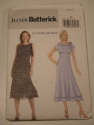 Dress Sewing Pattern Butterick # 4508 Plus Size 16-18-20-22 Uncut
