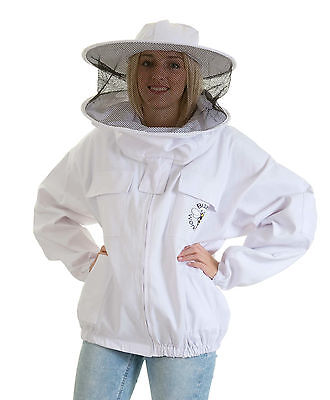 [FRANÇAIS] Buzz Beekeeping Bee Jacket with Round Veil - SMALL