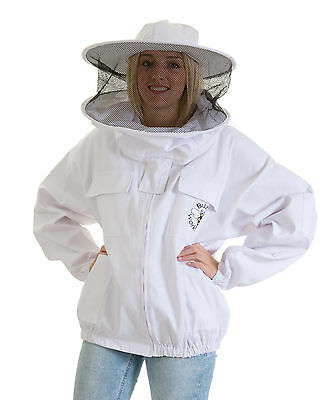 [DEUTSCH] Buzz Beekeeping Bee Jacket with Round Veil - 3XL