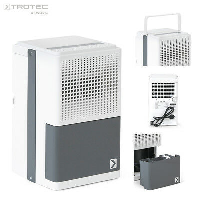 TROTEC TTK 25 E portable air dehumidifier with digital display max. 10 L/Day