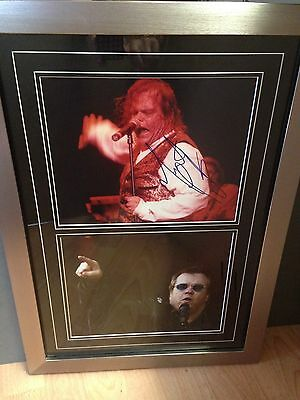 Meatloaf Genuine Hand Signed/Autographed Photograph with COA